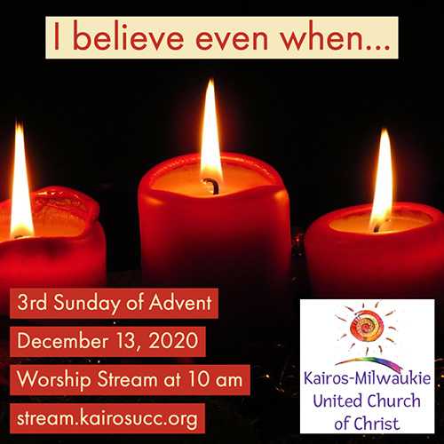 3rd Sunday of Advent Worship